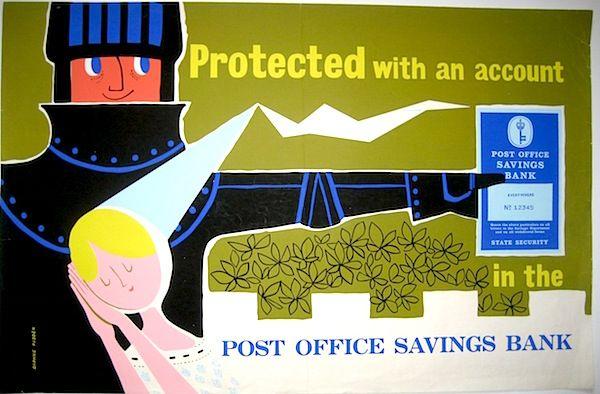 Daphne Padden POSB poster knight