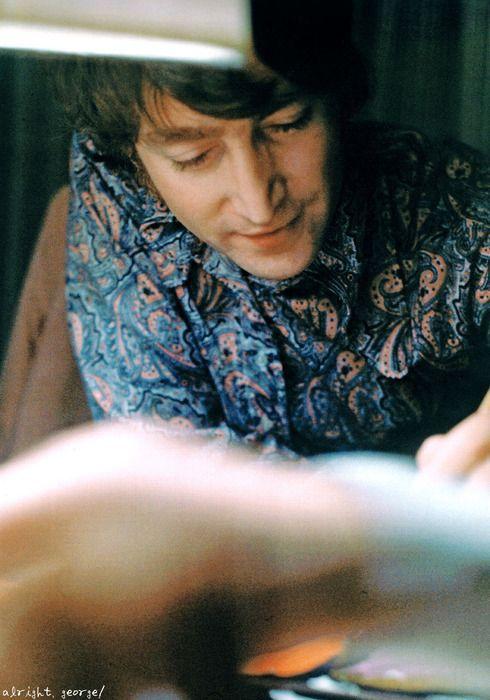John painting in Japan