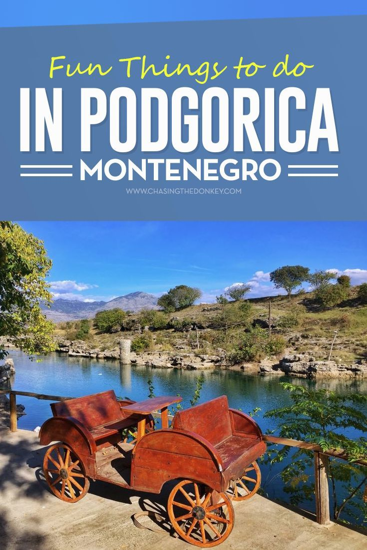 #Montenegro Travel Blog: There are more than enough things to do in #Podgorica to keep you entertained for at least two full days, here is what we suggest. #Balkans