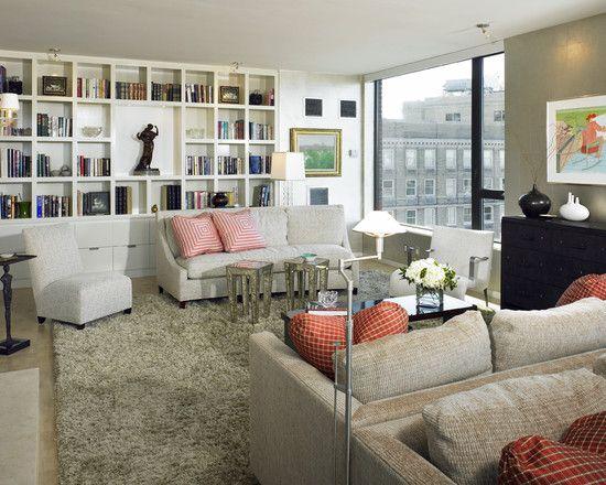 Modern Living Room Built Ins 63 best library/built in shelves images on pinterest | book