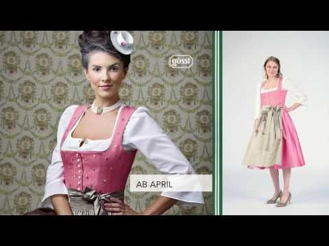 Gössl Tracht Kollektion Frühling/Sommer 2017 - YouTube