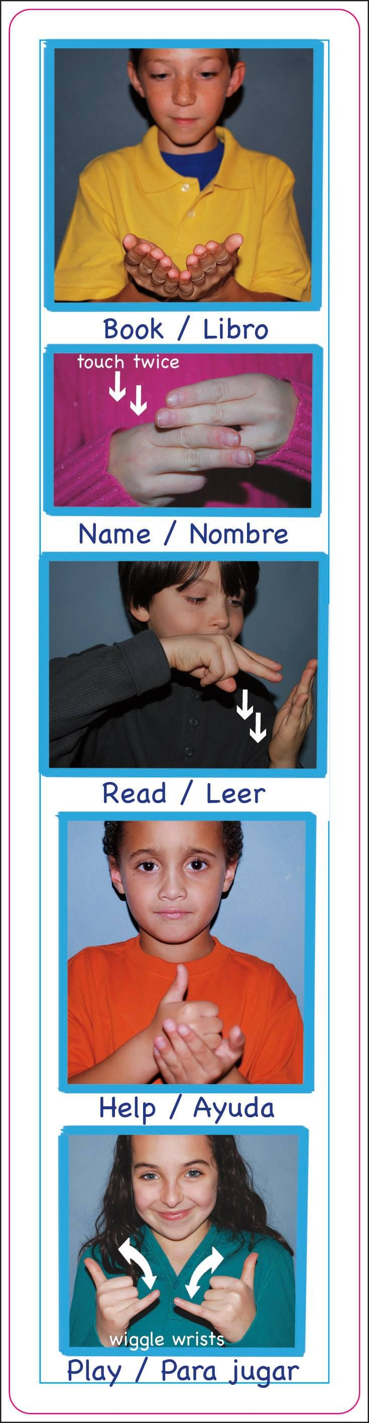 ASL signs  by deaf pride