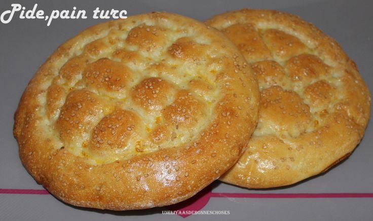 Pide,pain turc