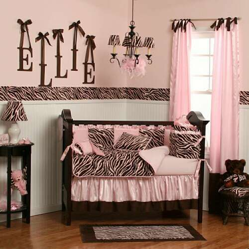 Zebra Nursery! Gorgeous! If we are blessed with another little girl, this is a definite!