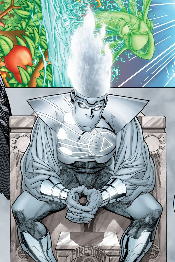 White Lantern Firestorm by Ryan Sook
