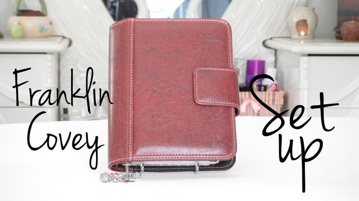 Organizing inside compact size Franklin Covey planner (size comparable to Filofax personal)