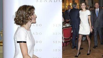 Королеву раскритиковали за длину платья и цвет колготок | Head News