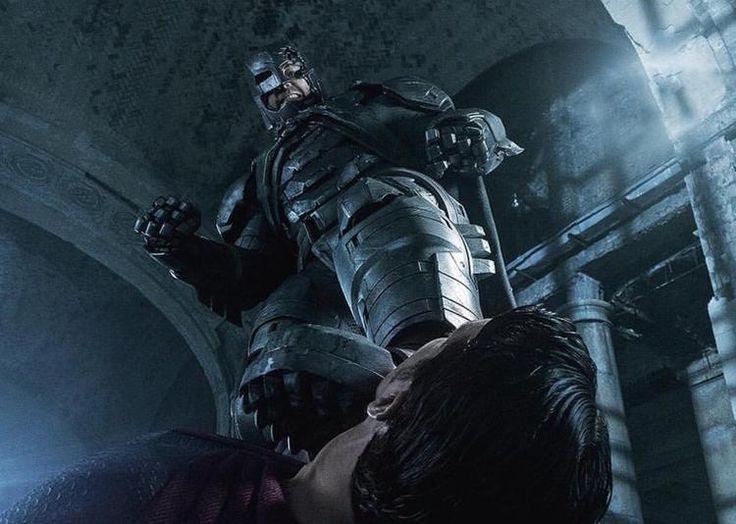 A Origem da Justiça - Batman deixa Superman no chão em nova imagem oficial! - Legião dos Heróis