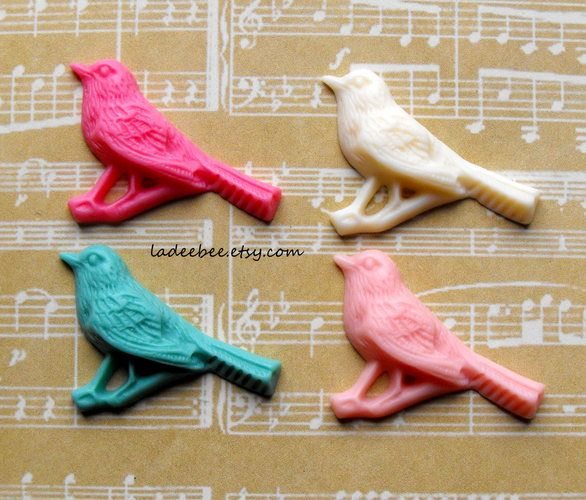Birdie Cabochons Mixed Colors. Starting at $1 on Tophatter.com!
