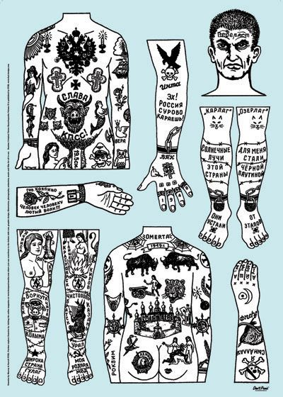 imevilalas: Russian Criminal Tattoos