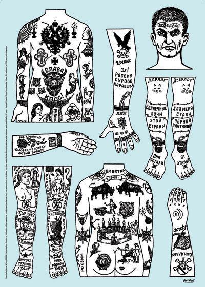 imevilalas: Russian Criminal Tattoos