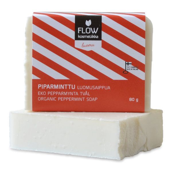 Flow cosmetics - Pepper mint soap