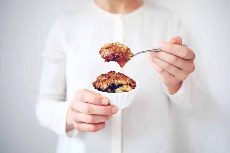 Dit heerlijke recept is echt ultiem omals toetje te eten, als ontbijt of als tussendoortje :) eigenlijk issie atijd goed (en gezond)!
