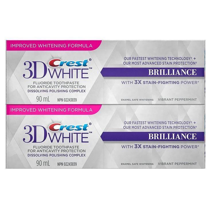 Crest 3D White Brilliance Vibrant Peppermint Whitening