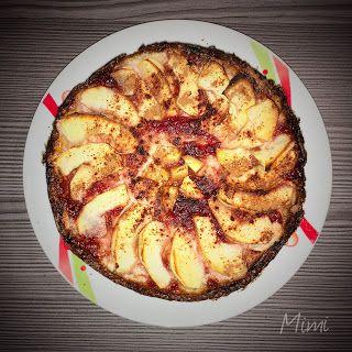 Almás-túrós protein pite