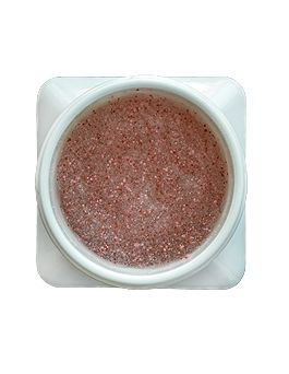 Fruity Body scrub - antioxidant protection of inner skin layers 100% natural, organic strawberry extract 100% natural, organic raspberry extract 100% natural, organic blueberry extract 100% natural, organic cranberry extract