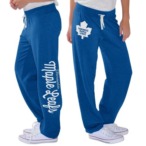 NHL Toronto Maple Leafs G-III 4Her by Carl Banks Women's Scrimmage Sweatpants - Blue