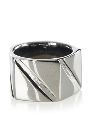 Karen London Gunmetal Rock Steady Ring
