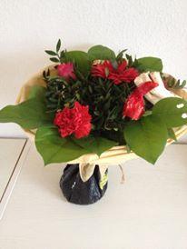 Mors dag buket fra min elskelige søn <3 #morsdag #blomster #mothersday