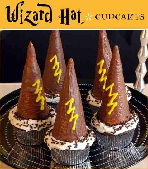 Jamie is head over heels for anything Harry Potter. Think I will make these soon. #harrypotter #dessert