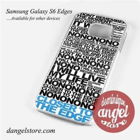 30 Seconds To Mars Song Lyrics Phone Case for Samsung Galaxy S3/S4/S5/S6/S6 Edge
