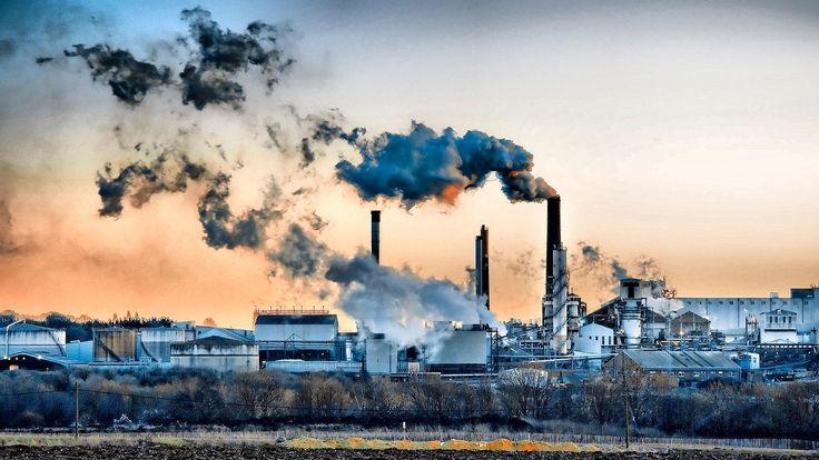 001 free factory wallpaper 8388 Environmental pollution, Air