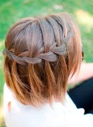 Resultado de imagen para trenzas para cabello corto