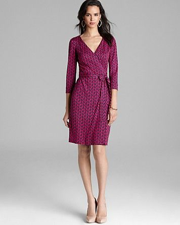 DIANE von FURSTENBERG Wrap Dress - New Julian Two | Bloomingdale's