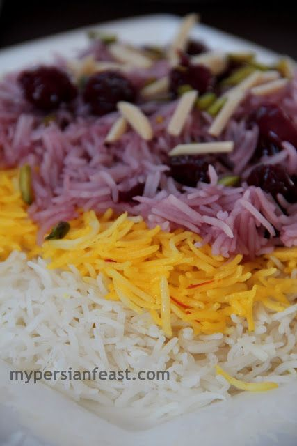 cherry syrup persian sour cherry saffron rice i had this at a place in ...