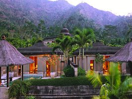 Escape to top vacation spot Amanjiwo Resort in Java, Indonesia.