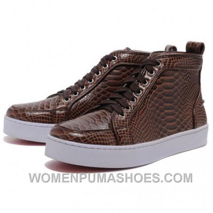 http://www.womenpumashoes.com/christian-louboutin-men-louis-flat-python-sneakers-chocolate-lastest-s2nj4.html CHRISTIAN LOUBOUTIN MEN LOUIS FLAT PYTHON SNEAKERS CHOCOLATE LASTEST S2NJ4 Only $139.00 , Free Shipping!