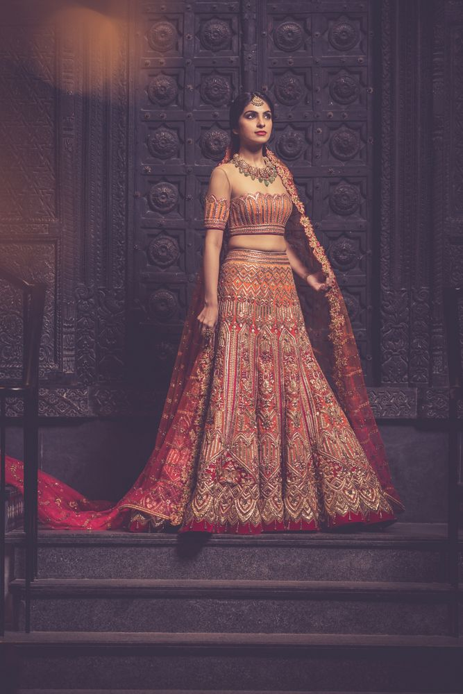 You know what we love about WMG Red Carpet Bride shoots? That the brides get to experiment with looks completely different than what they had envisioned themselves in. Take Mansha, for example- when she came in she told us that...