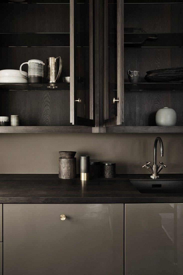 Kitchen stills in sand and brown - via cocolapinedesign.com