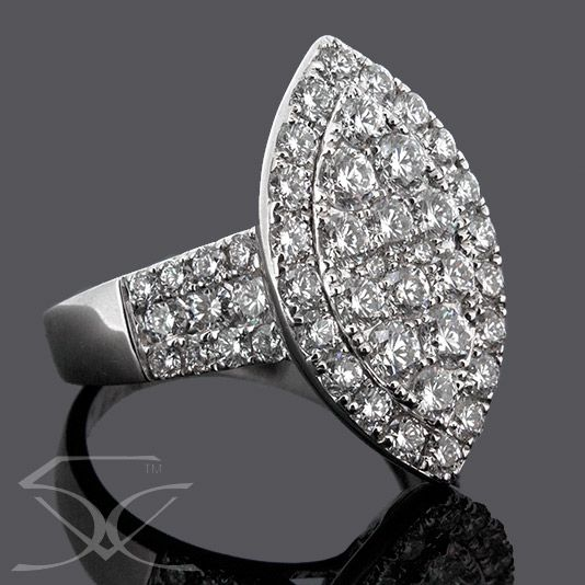 #Diamond Dress #Ring For Those Who Love To Fly Free. To read more please visit here https://goo.gl/SeQoOX  #Diamond_Dress_Ring #Love