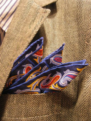 A butterfly in the pocket
