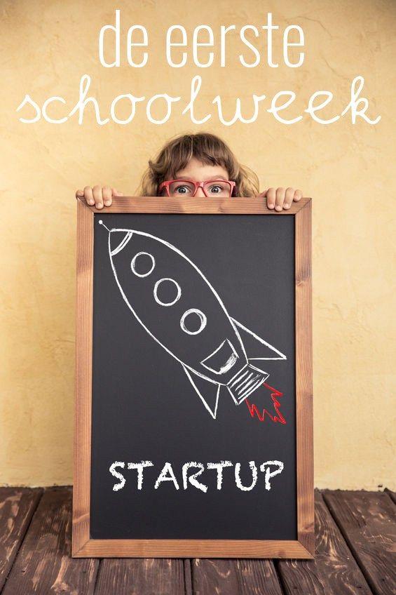 De eerste schoolweek activiteiten