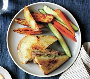 Patty melts, Ovens and Real simple on Pinterest