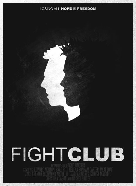Fight Club Poster by SamRAW08.deviantart.com on @deviantART