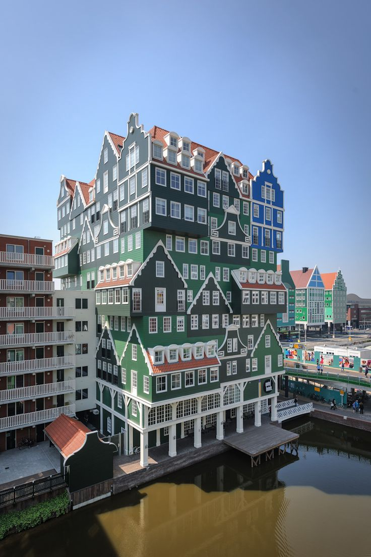 Hotel Inntel Zaandam, Zaandam - Architect: WAM architecten & Molenaar en Winden Architecten