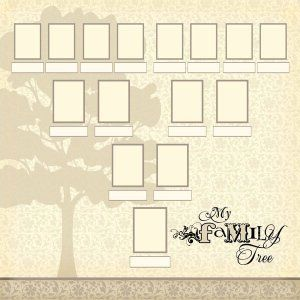17 Best images about Family tree layouts on Pinterest | Genealogy ...