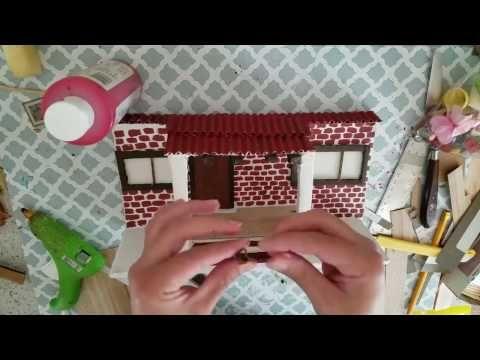 casitas para decorar tu pared - YouTube