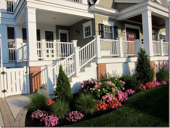 Front Elevation Landscape Ideas : Best images about front porch on pinterest
