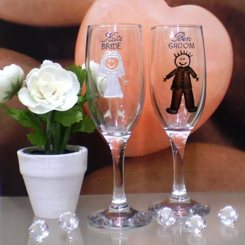 RES Designs - Wedding Glassware. Photo by Ruth Slade, article for Think Tasmania.