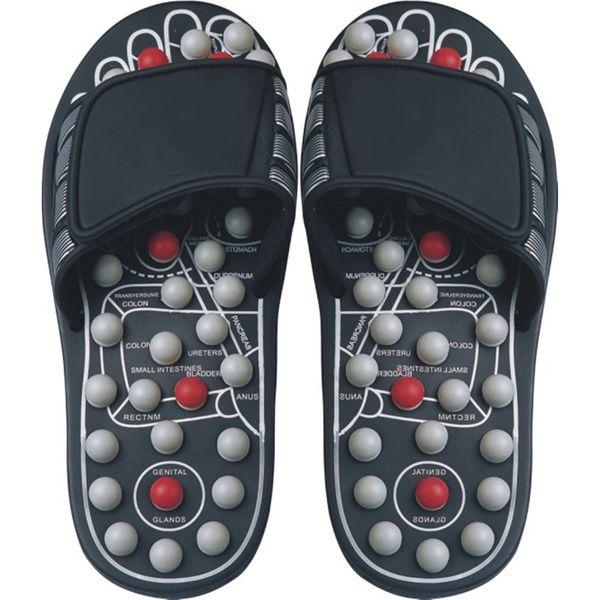 Reflexology Sandals Black Pearl