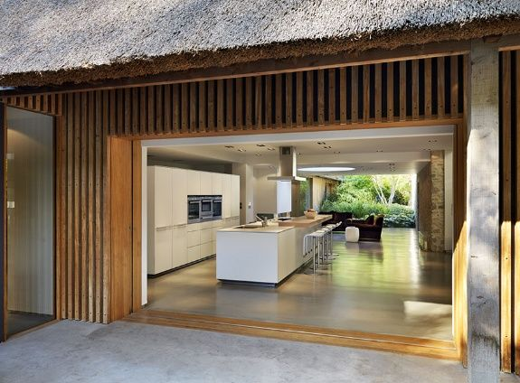 Courtyard house in South Oxfordshire