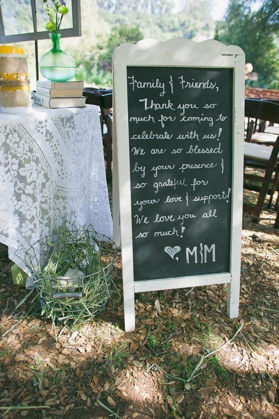 image of Wedding Signage