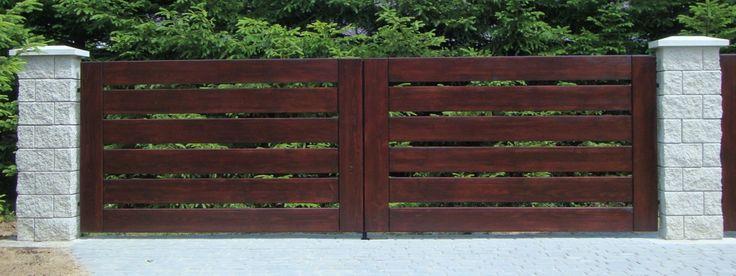 Znalezione obrazy dla zapytania ogrodzenia drewniane