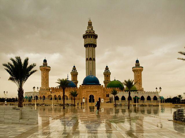 Grand Mosque of Touba Senegal by antonioVi (Antonio Vidigal), via Flickr