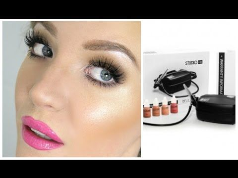 youtube how to make airbrush makeup