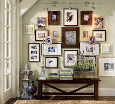 Pretty picture wall